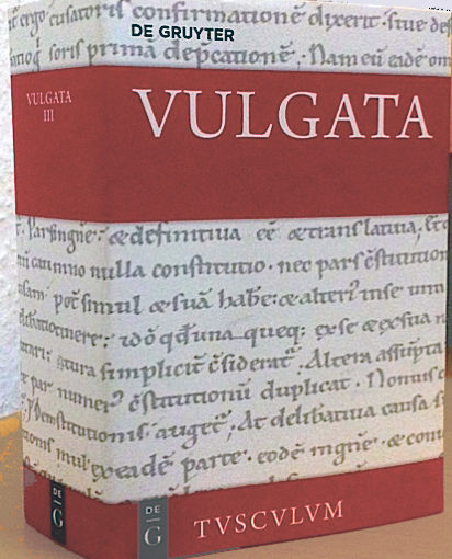 Neue Rezensionen über die Vulgata Tusculum Deutsch